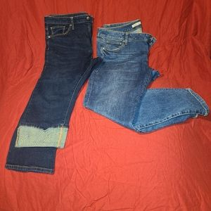 Cabi and universal thread jeans